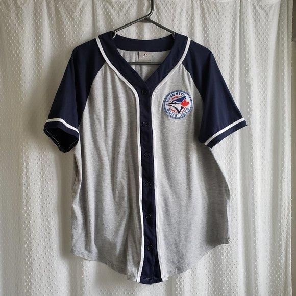MLB Toronto Blue Jays Fan Jersey XL Short Sleeved
